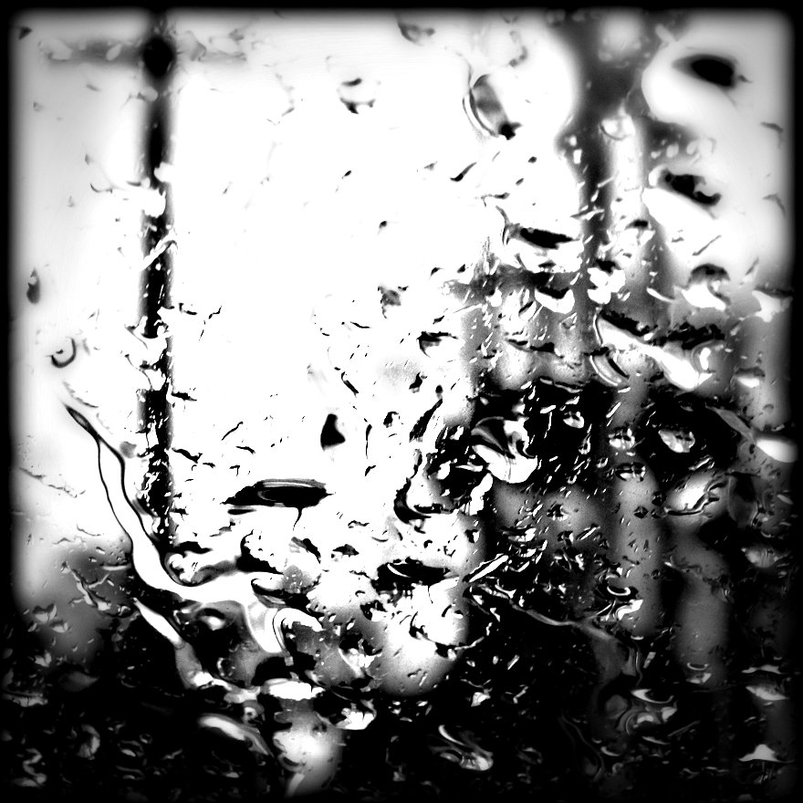 raindrops on a window